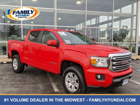 Pre-Owned 2018 GMC Canyon SLE1 RWD 4D Crew Cab