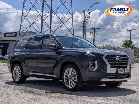 New 2020 Hyundai Palisade Limited AWD 4D Sport Utility